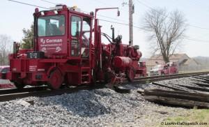 RJ Corman Railroad Tie Replacement