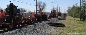 Railroad Tie Replacement Equipment
