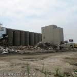 Silo Demolition Site