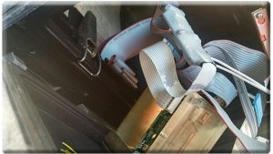 Kentucky Department of Agriculture inspectors found this skimmer inside a fuel pump in a Richmond retail establishment.